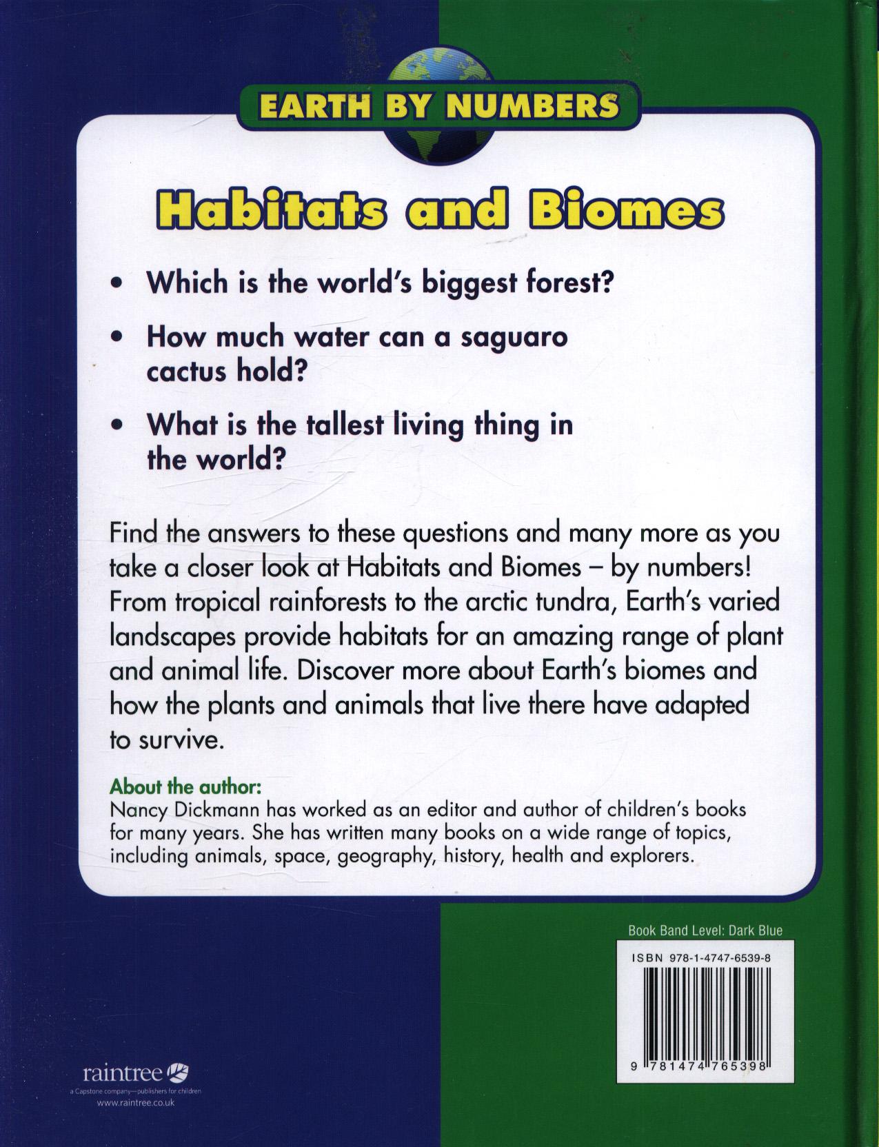 Habitats and biomes by DICKMANN, NANCY (9781474765398