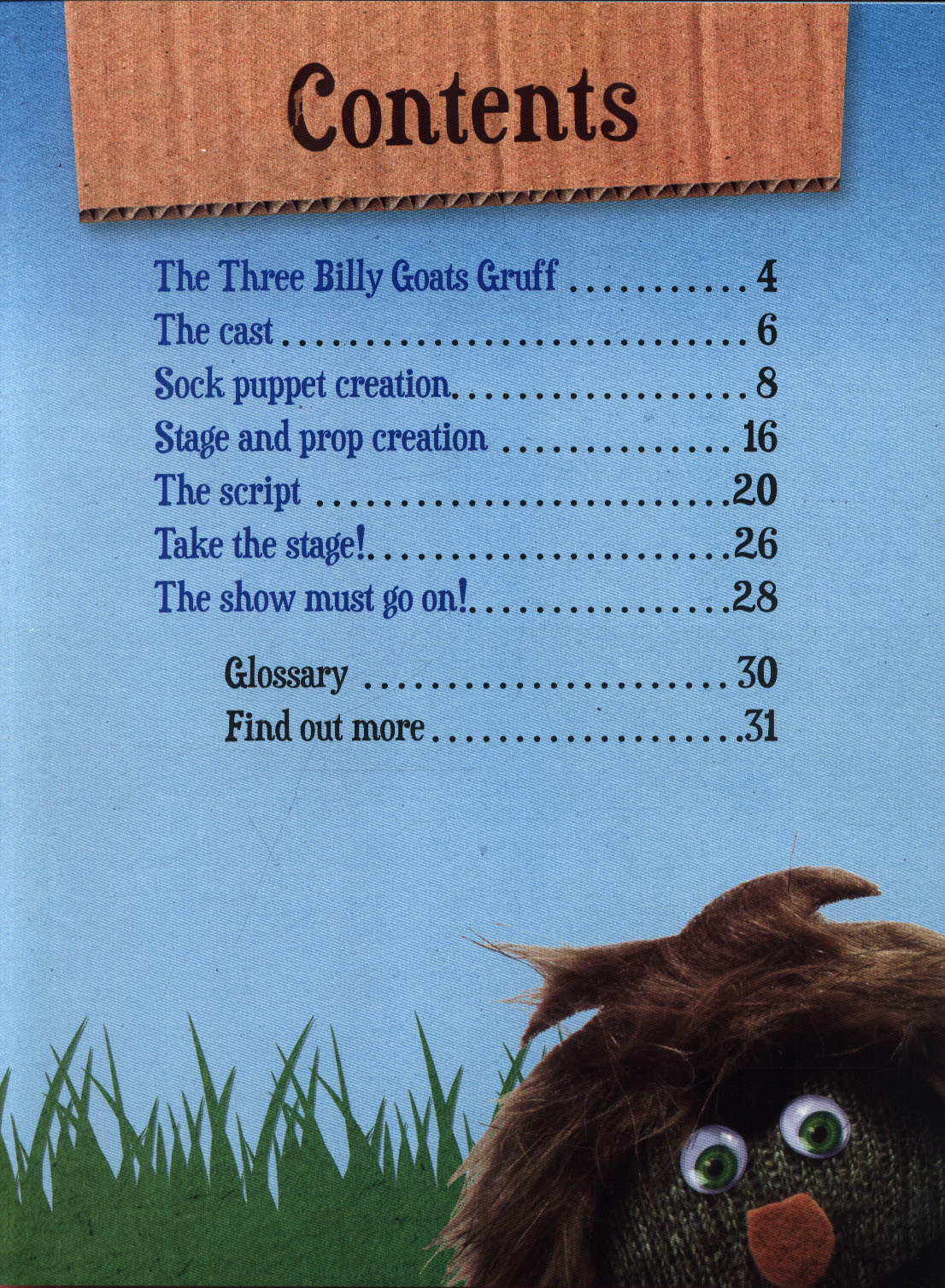 The three billy goats gruff : a make and play production by Harbo
