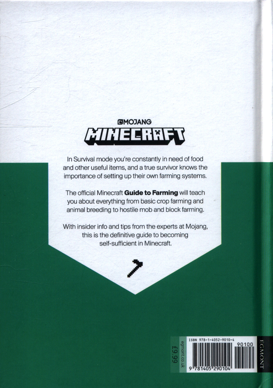 Minecraft: Guide to farming by AB, Mojang (9781405290104