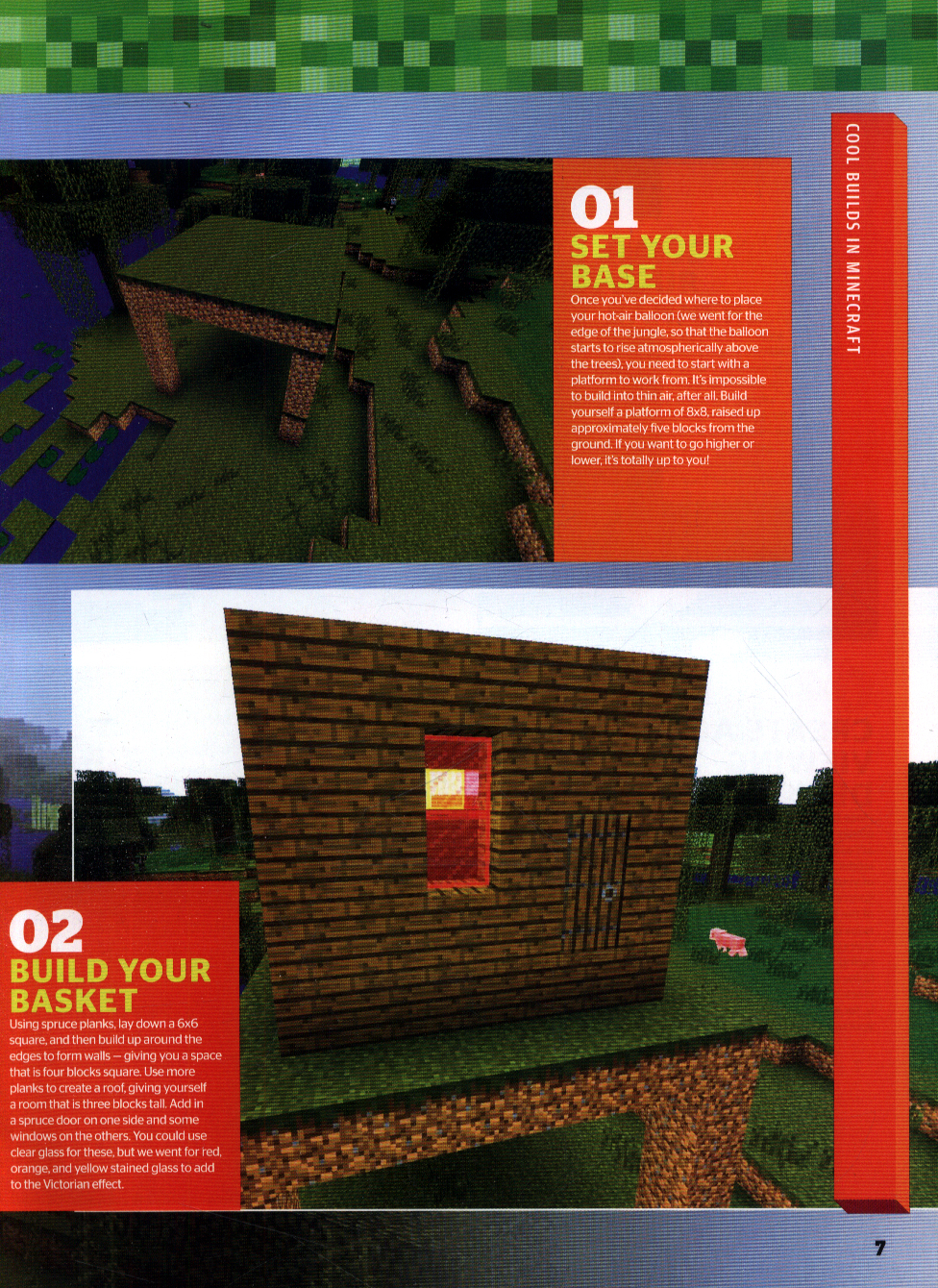 Cool builds in Minecraft by Publishing, Future