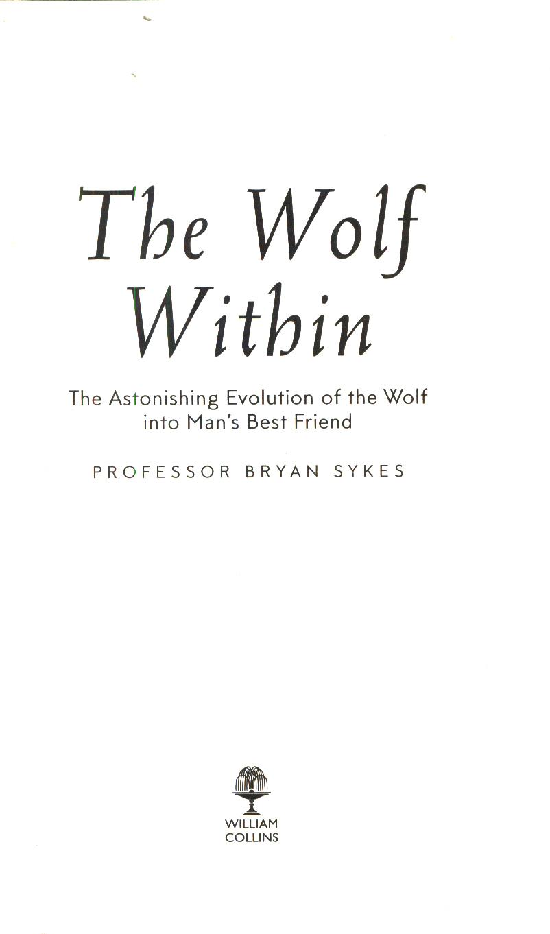 The wolf within : the astonishing evolution of the wolf into man's