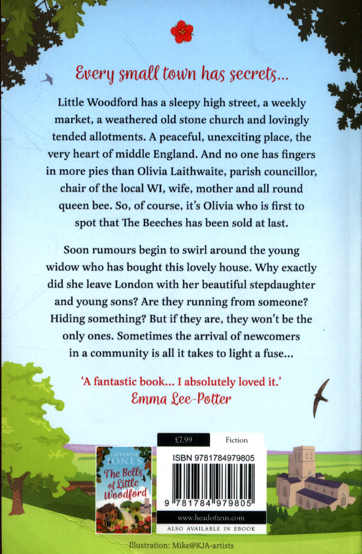 Little Woodford : the secrets of a small town by Jones