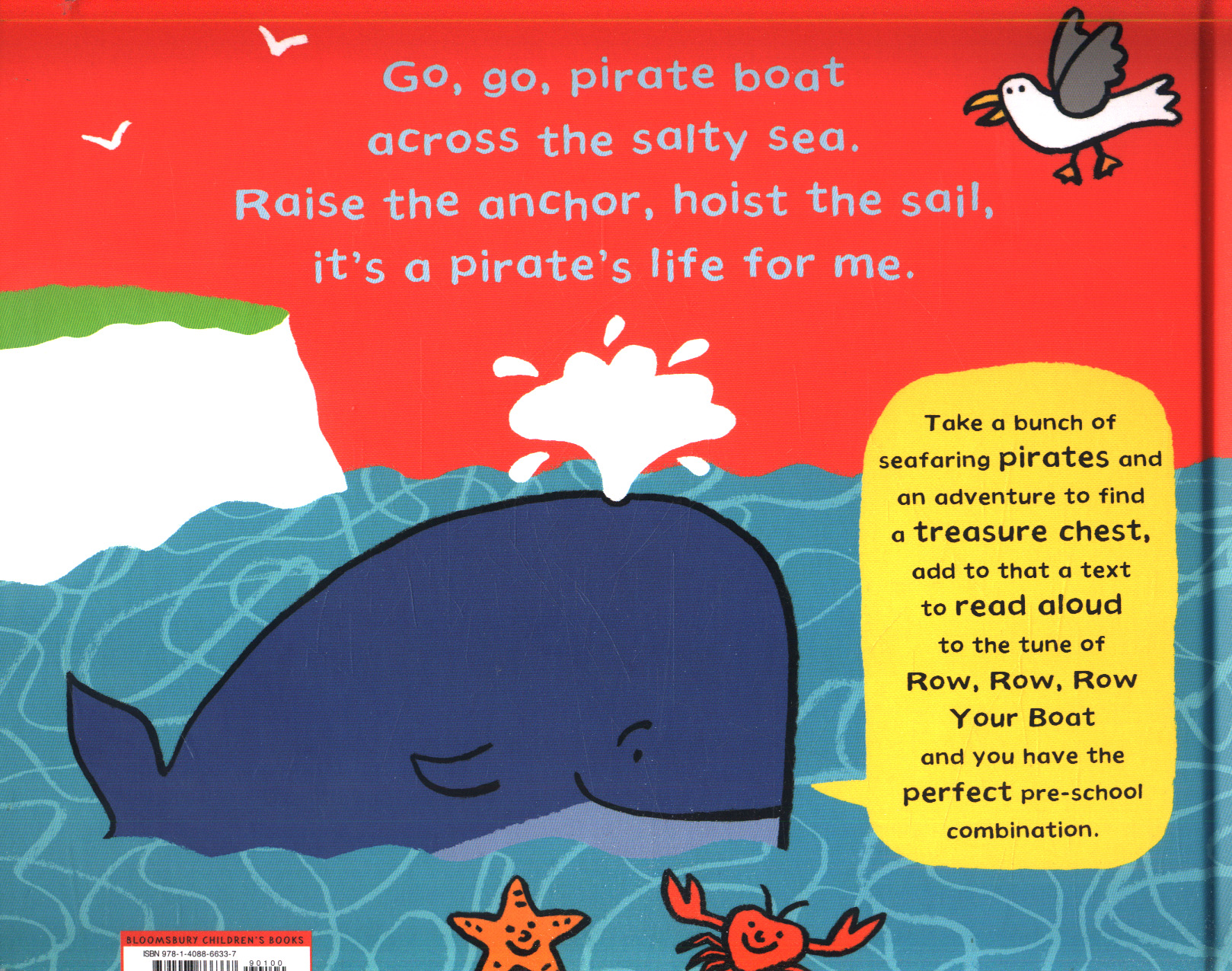 Go, go, pirate boat by Charman, Katrina (9781408866337