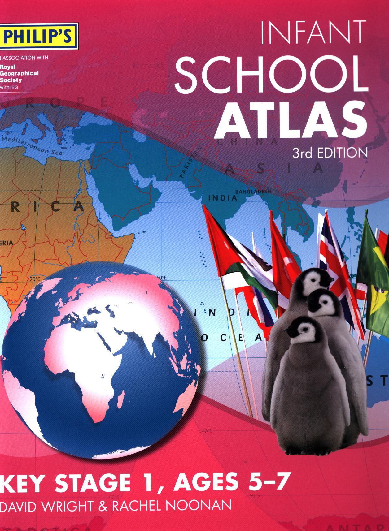 Map Of Uk Key Stage 1.Philip S Infant School Atlas By Noonan Rachel 9781849074896