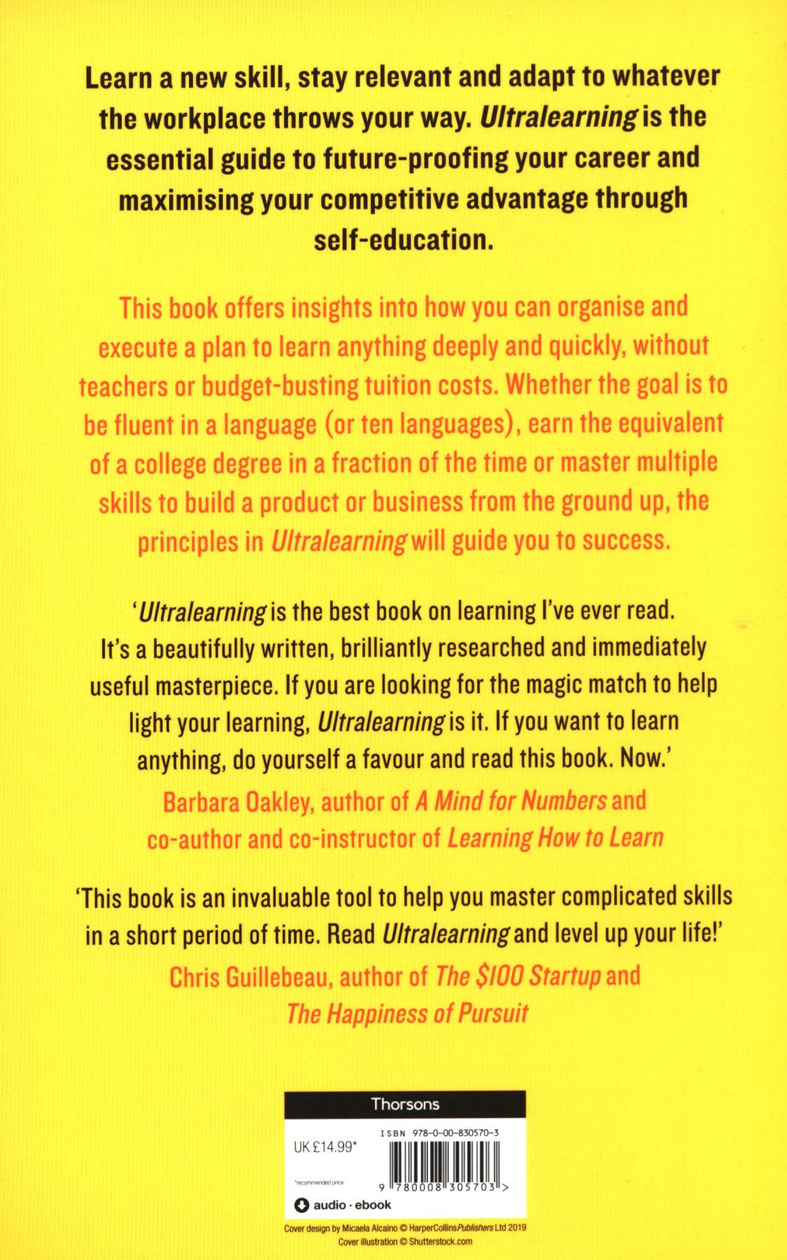 Ultralearning : accelerate your career, master hard skills