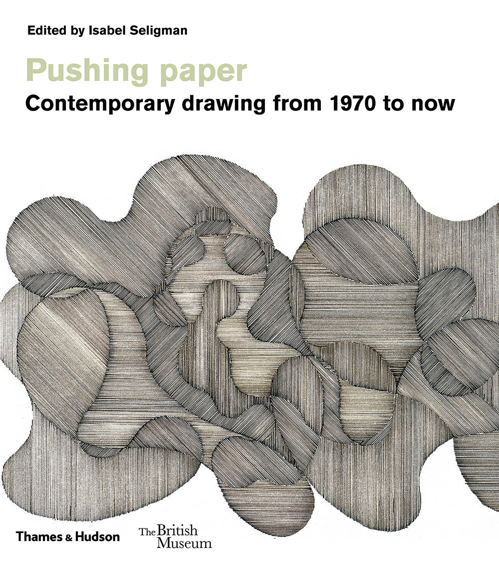 Image for Pushing paper  : contemporary drawing from 1970 to now