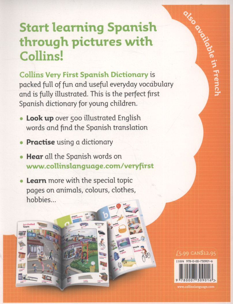 Collins very first Spanish dictionary by Collins