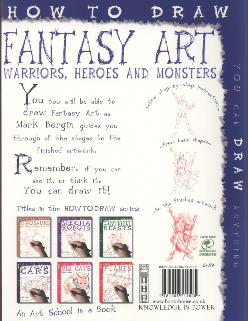 How to draw fantasy art : warriors, heroes and monsters by
