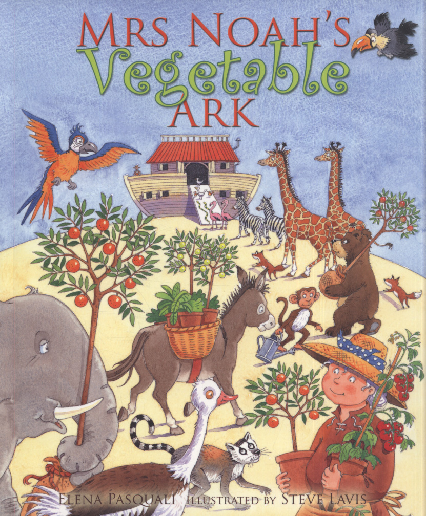 Mrs Noah's Vegetable Ark By Pasquali, Elena (9780745961880