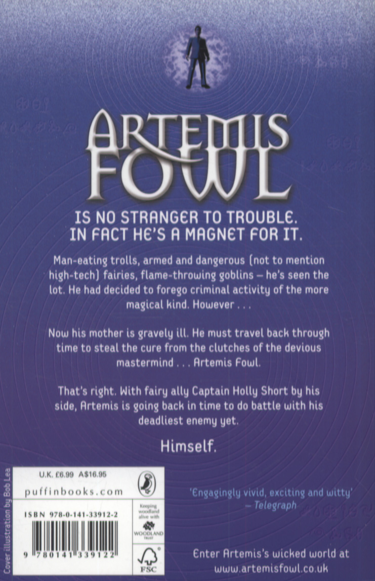 Artemis Fowl The Time Paradox Ebook