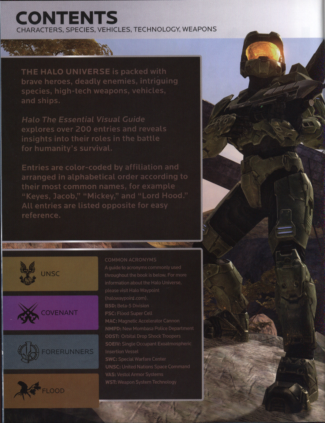 Halo : the essential visual guide by DK (9781405365871