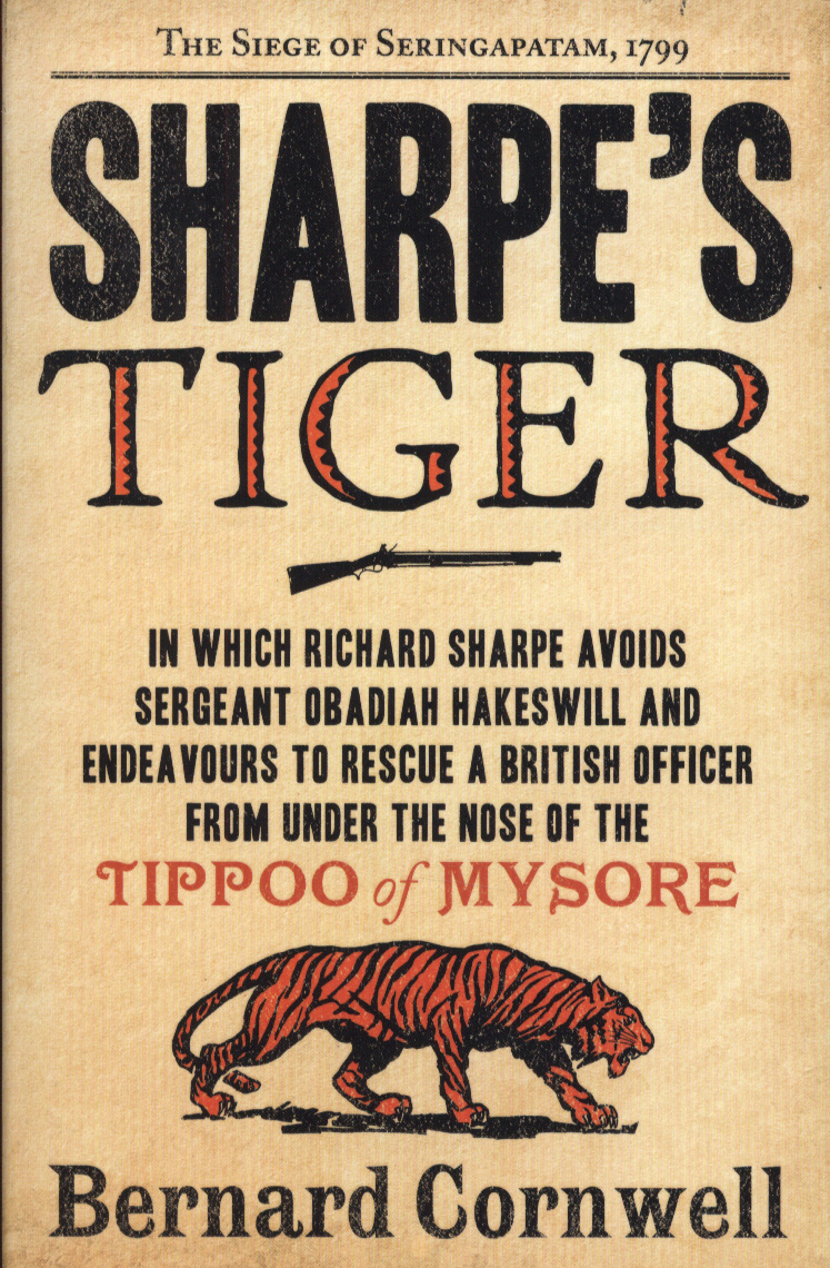 Sharpe's Tiger book cover