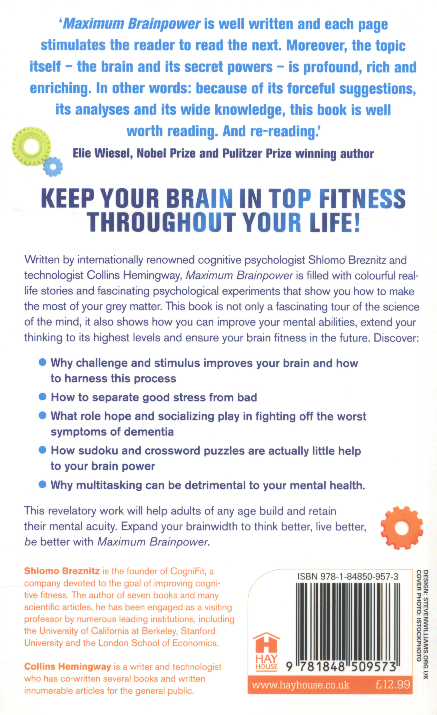 Maximum Brainpower Challenging The Brain For Health And Wisdom By