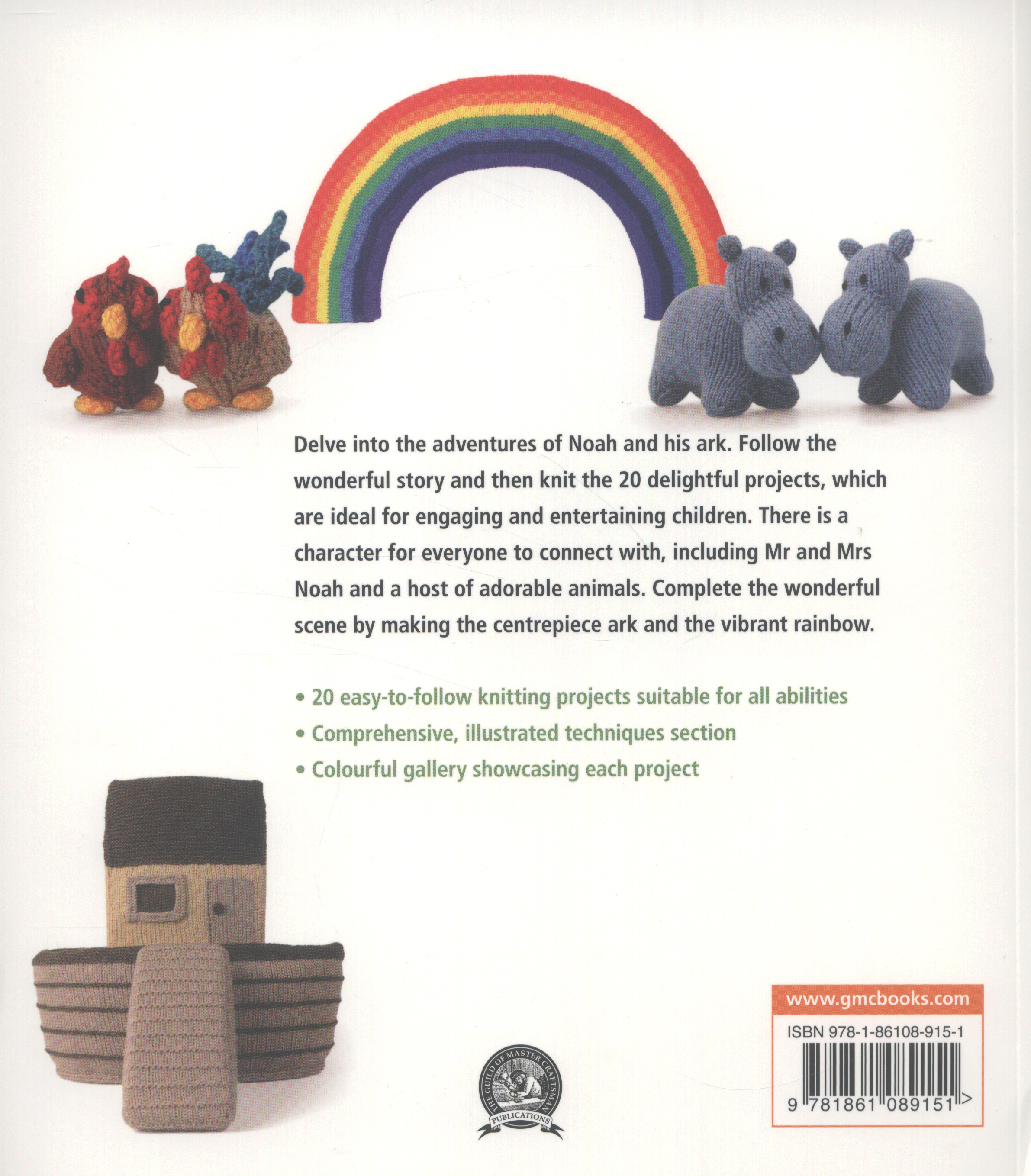 Knitted Noah's ark : a collection of charming characters to