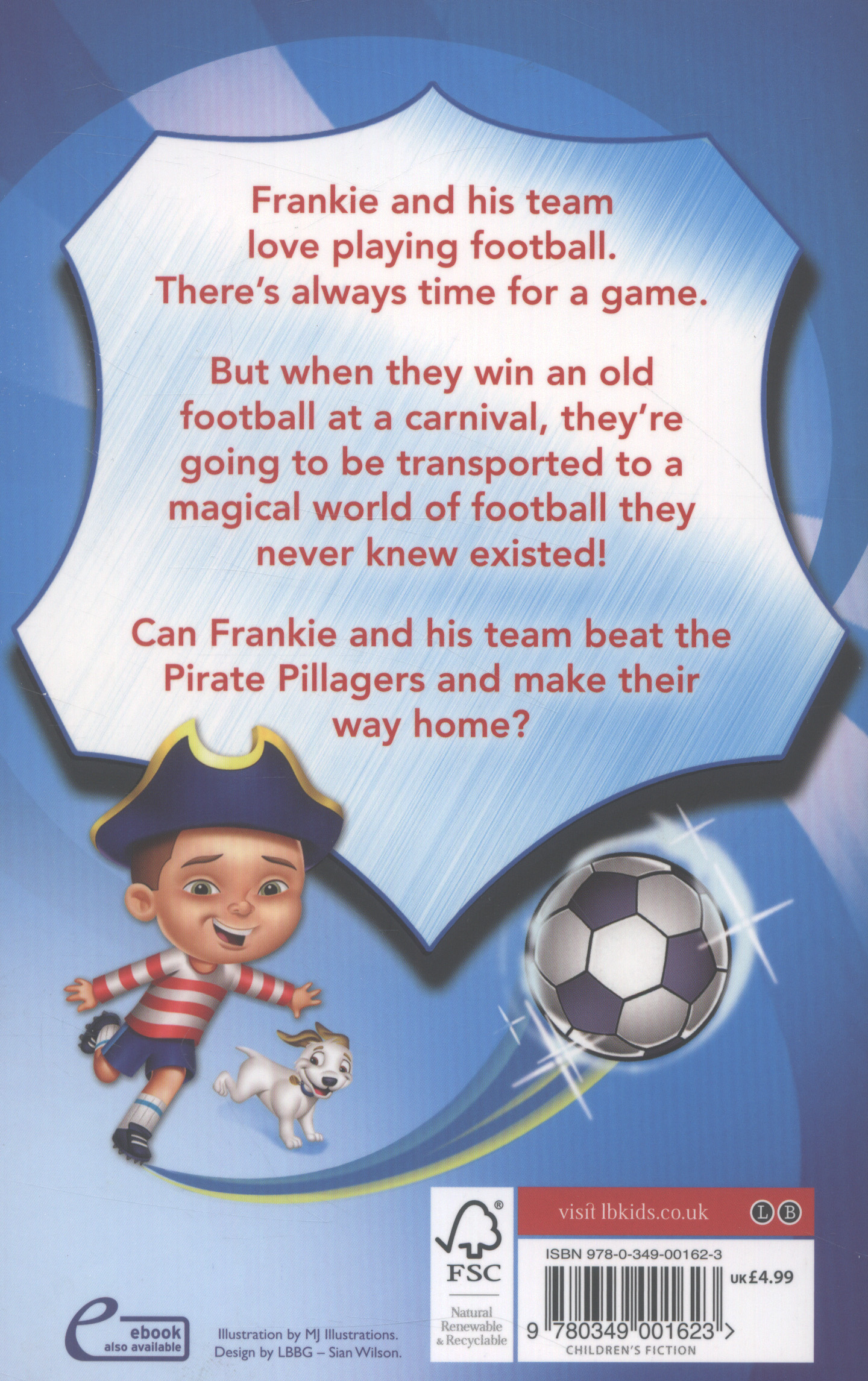 Frankie vs the Pirate Pillagers