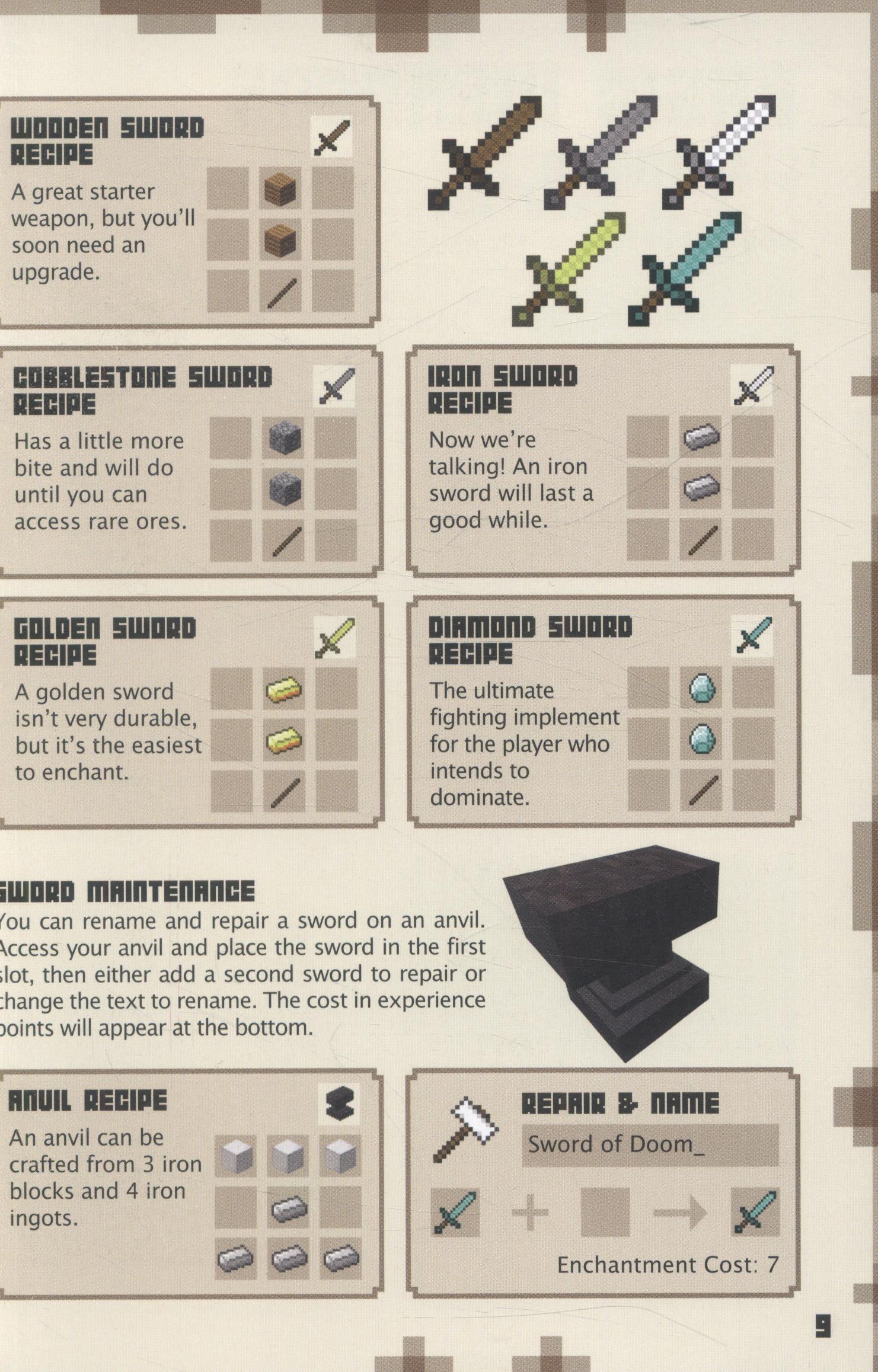 Minecraft : combat handbook by Egmont UK Ltd (9781405268417