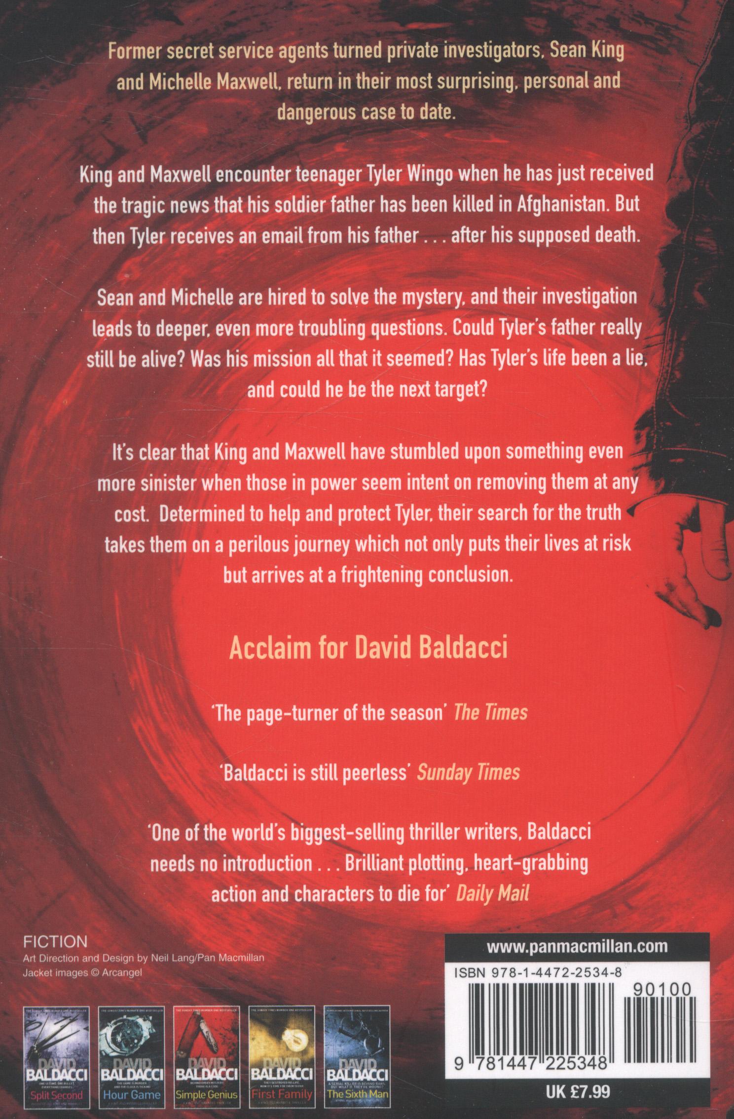 King and Maxwell by Baldacci, David (9781447225348) | BrownsBfS