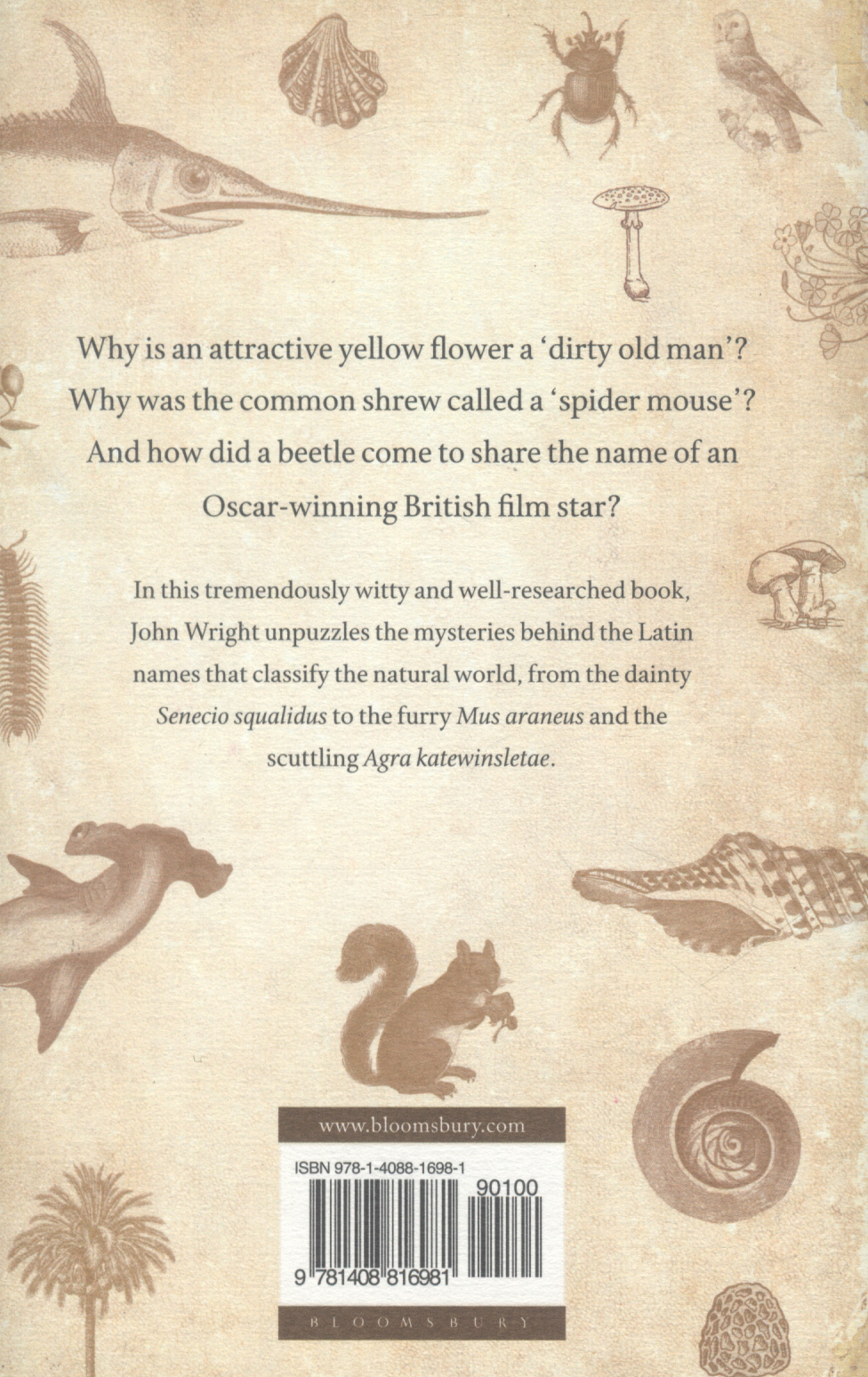 the naming of the shrew a curious history of latin names