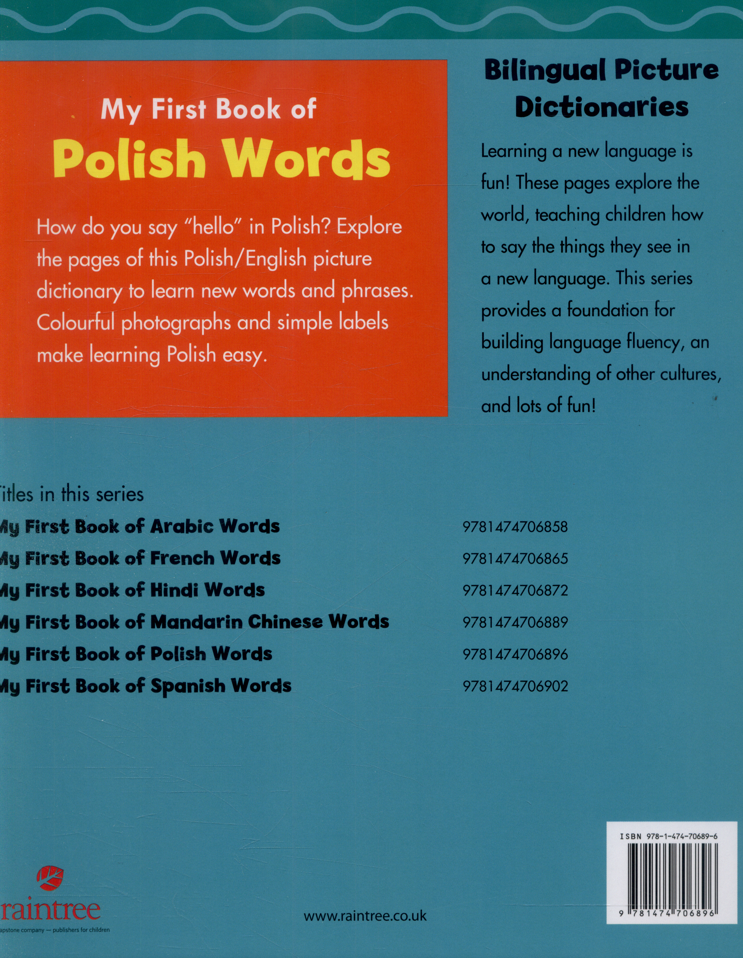 My first book of Polish words by Kudela, Katy R  (9781474706896