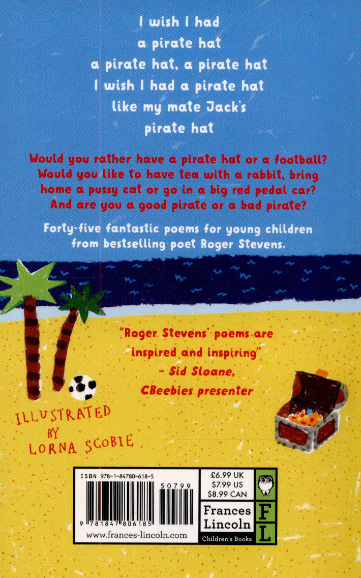 I wish I had a pirate hat by Stevens, Roger (9781847806185