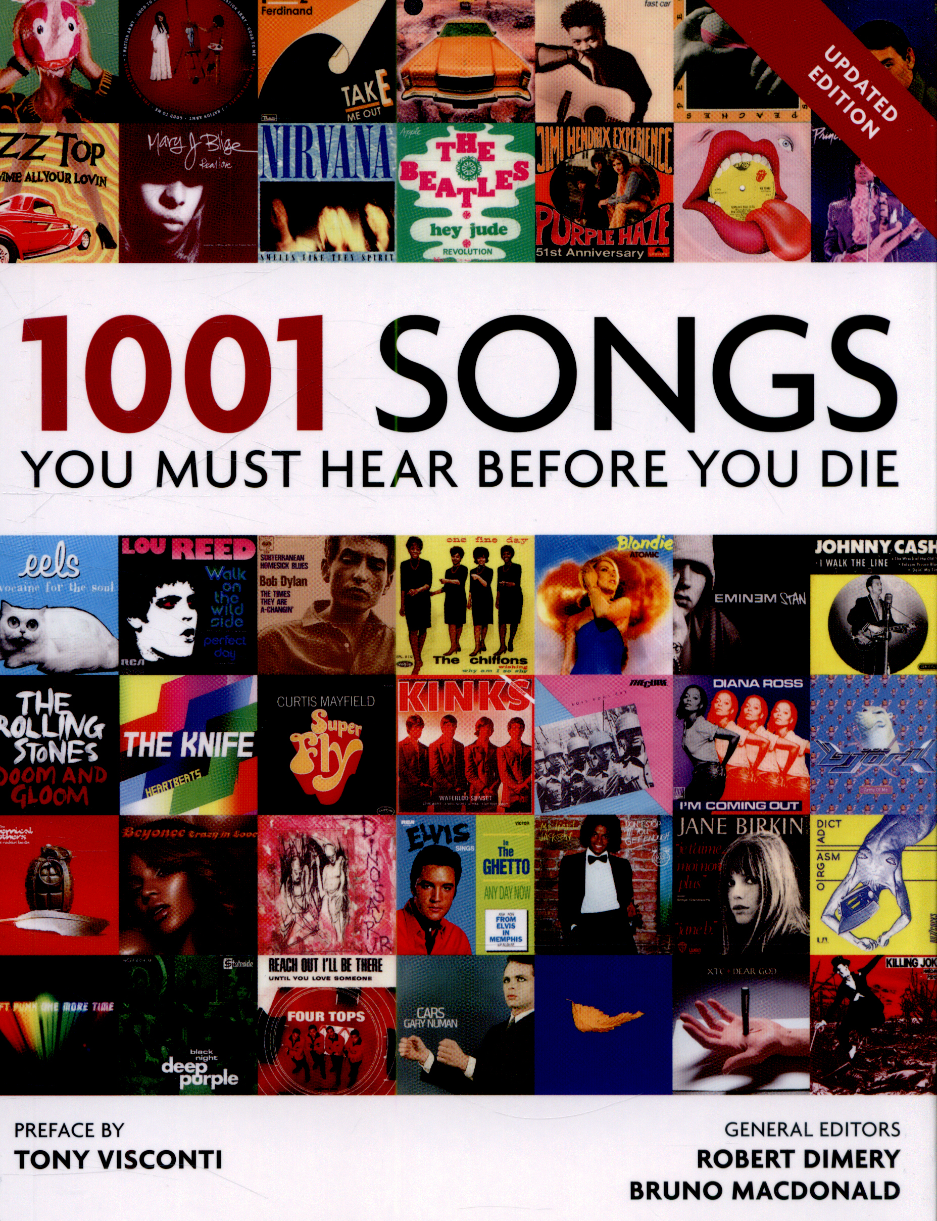 1001 Songs You Must Hear Before You Die By Dimery Robert 9781844038800 Brownsbfs