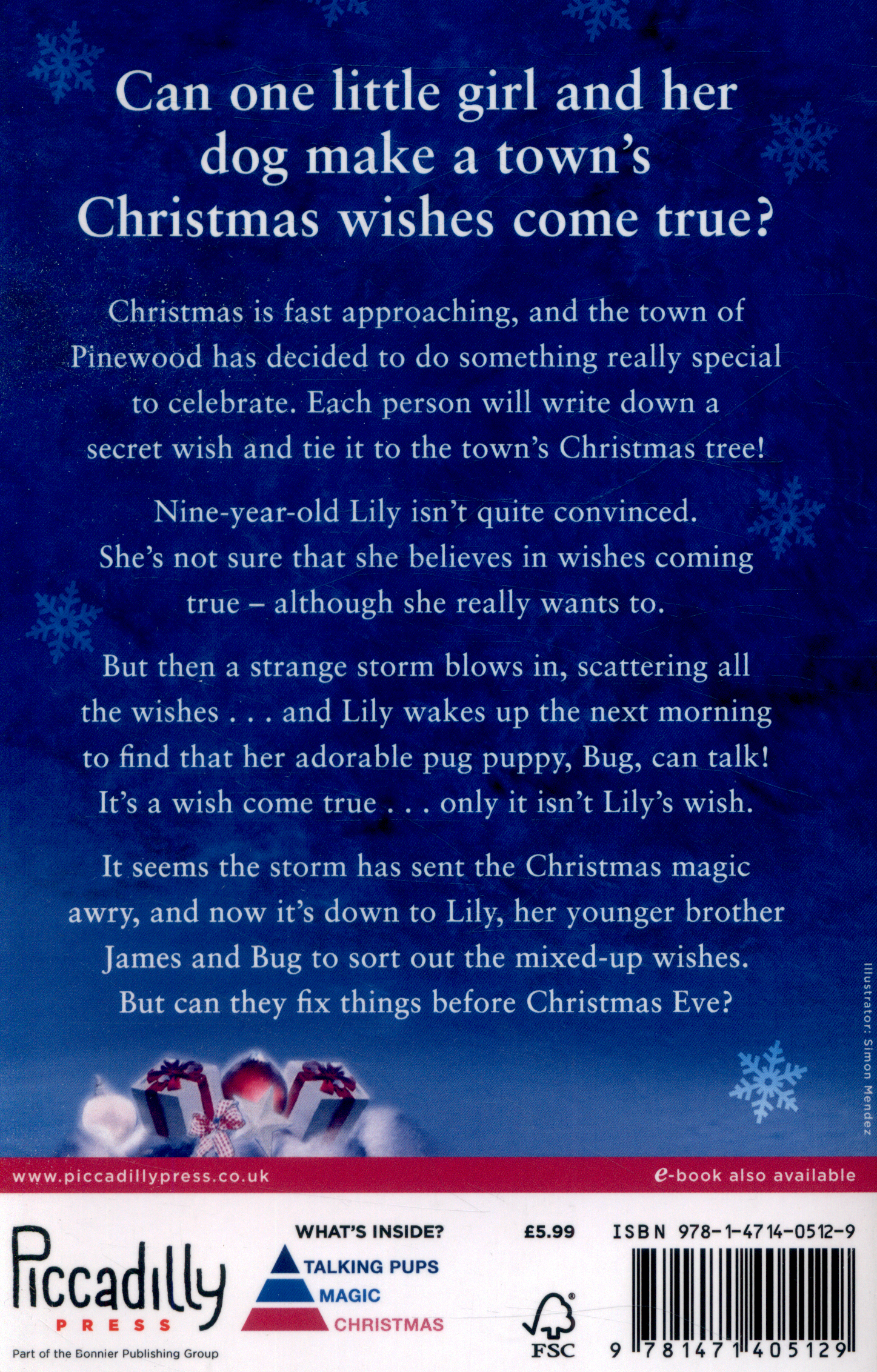 Lily and the Christmas wish by Stainton, Keris