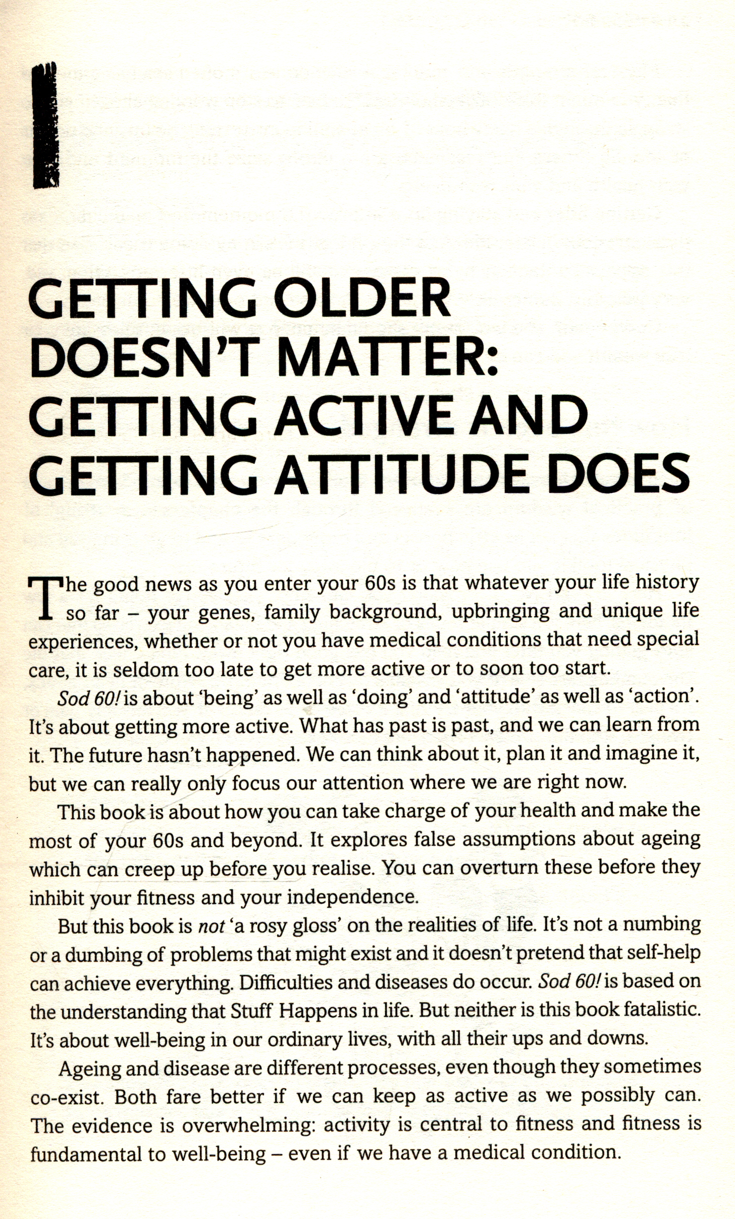 sod seventy the guide to living well