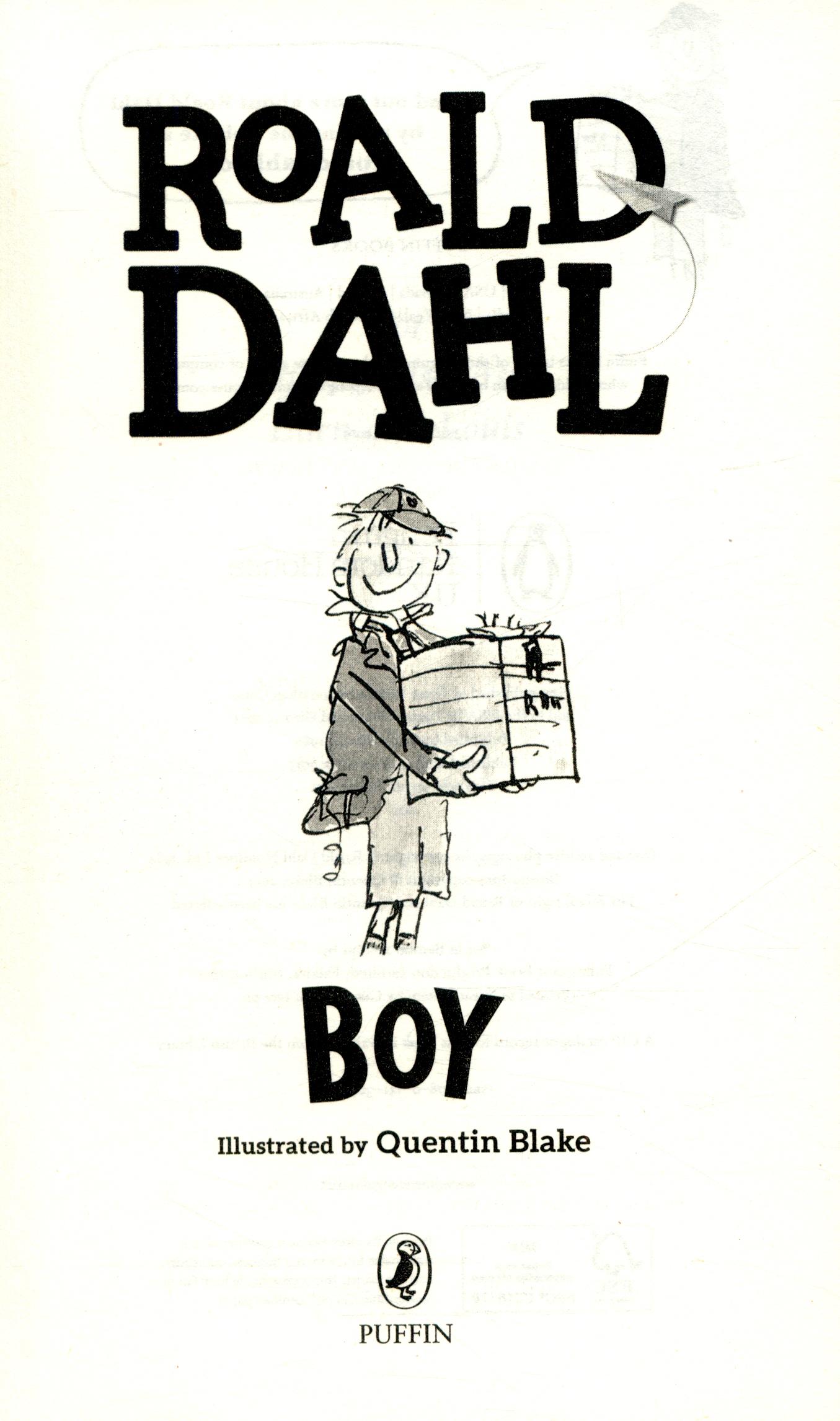 Boy Roald Dahl Ebook