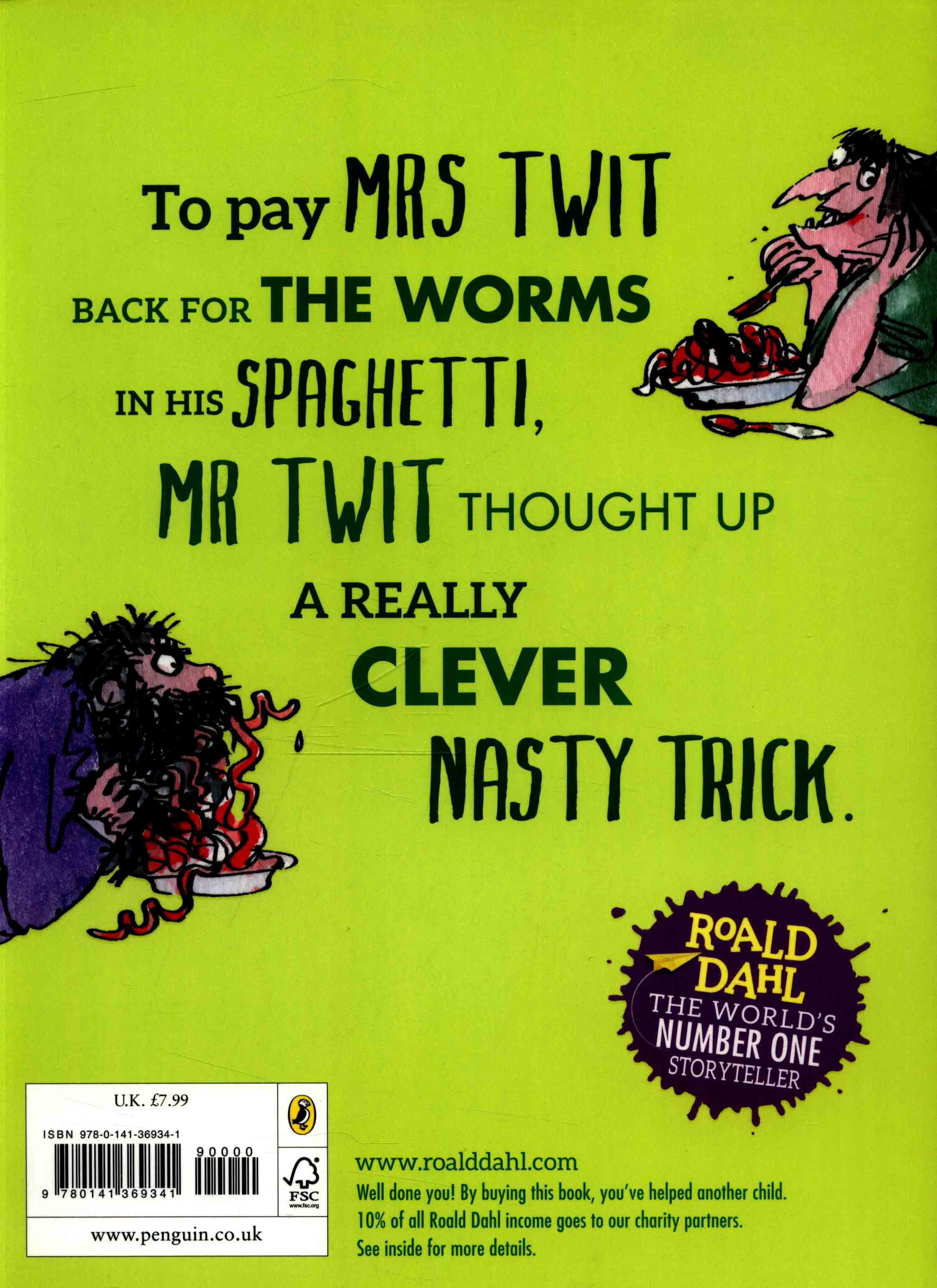 Roald Dahl The Twits Ebook