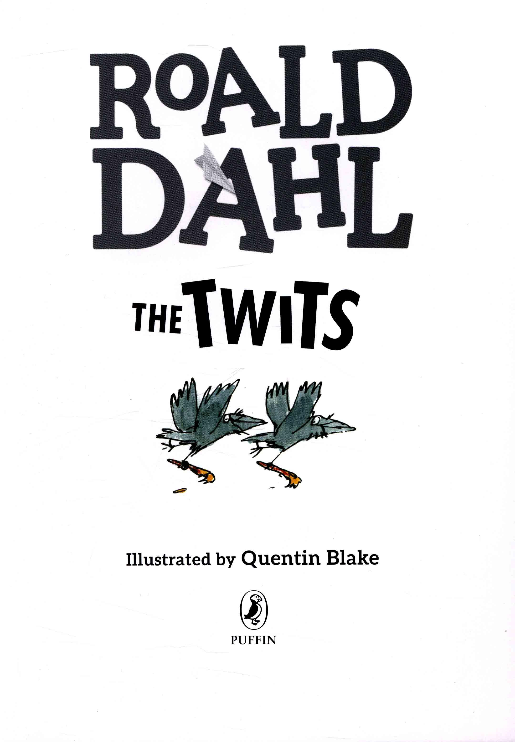 Roald Dahl The Twits Ebook