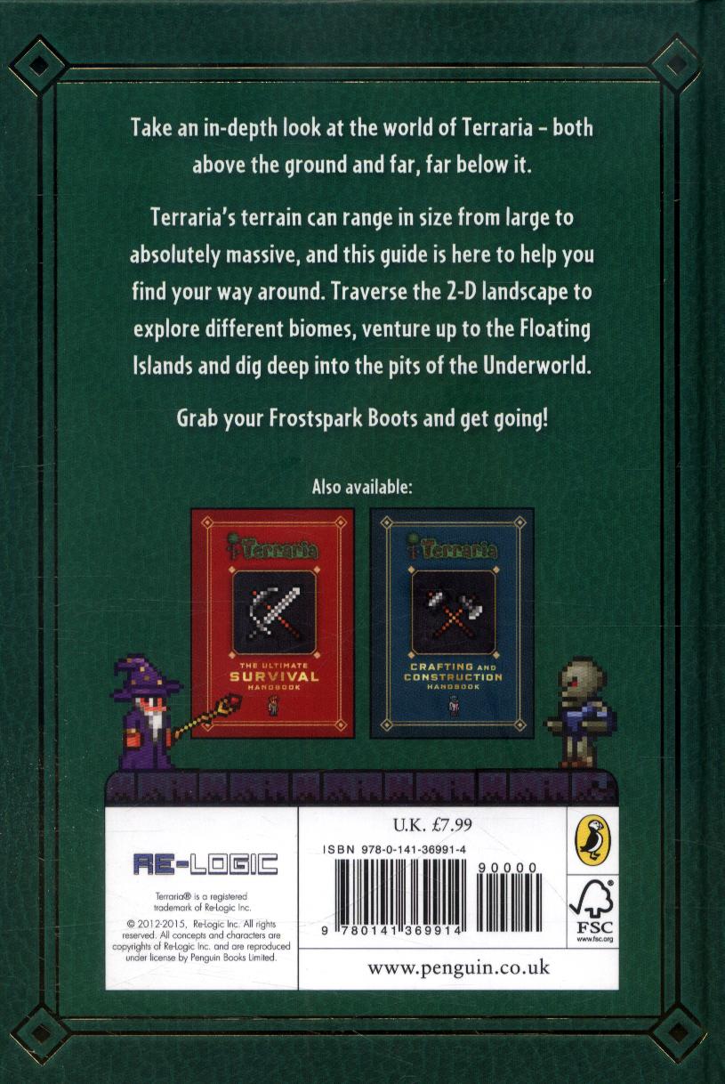 Terraria: Exploration and adventure handbook by Roy, Daniel