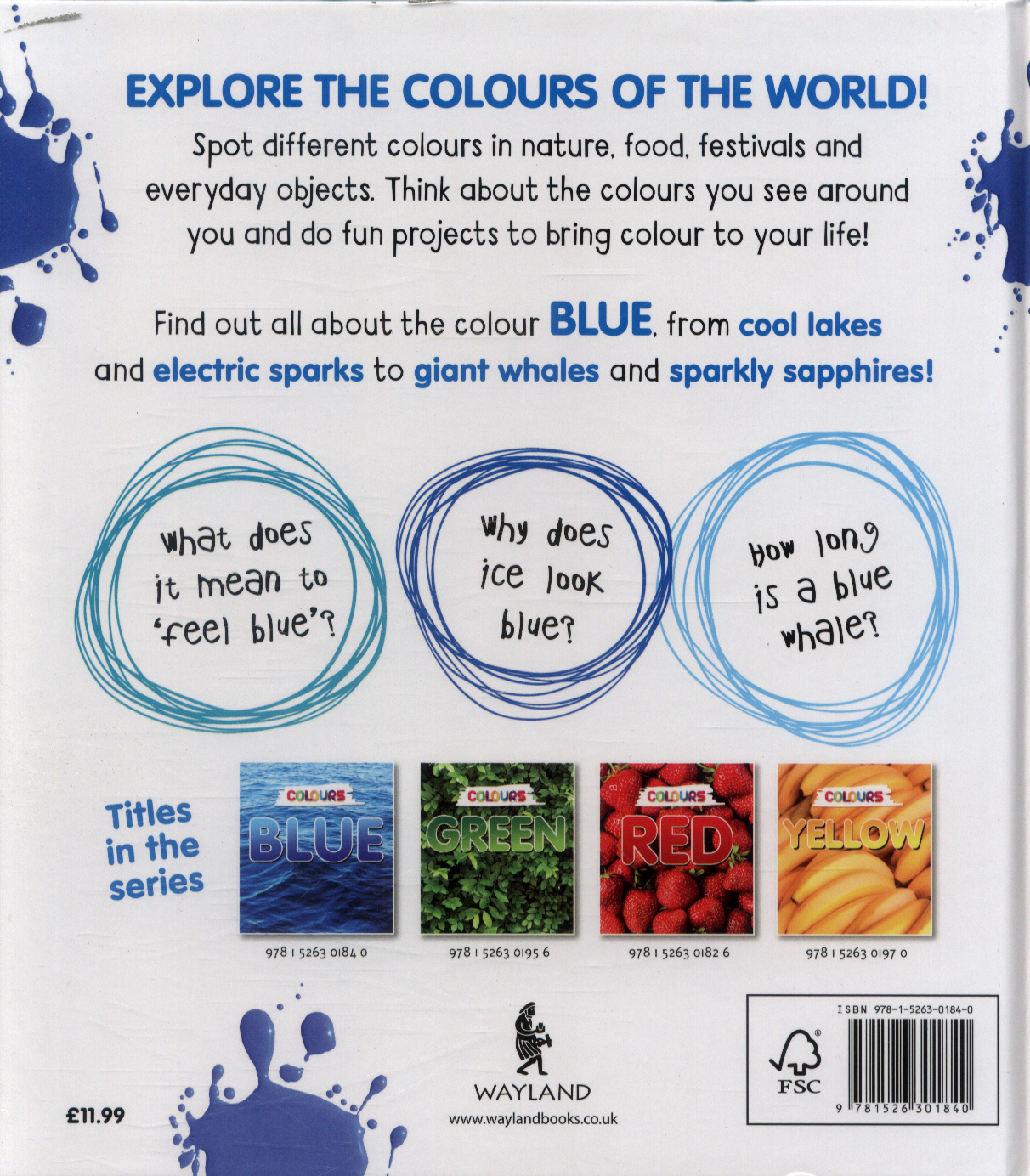 Blue by Woolfitt, Gabrielle (9781526301840) | BrownsBfS