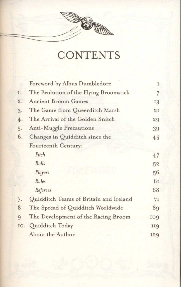 Quidditch Through The Ages Ebook
