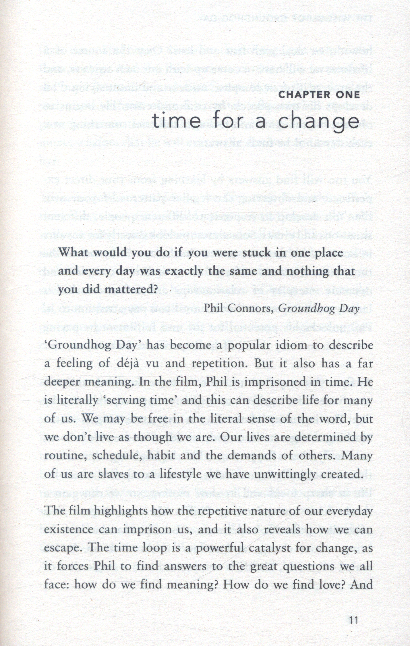 The wisdom of Groundhog Day : how to improve your life one day at a time by  Hannam, Paul (9781473619203) | BrownsBfS