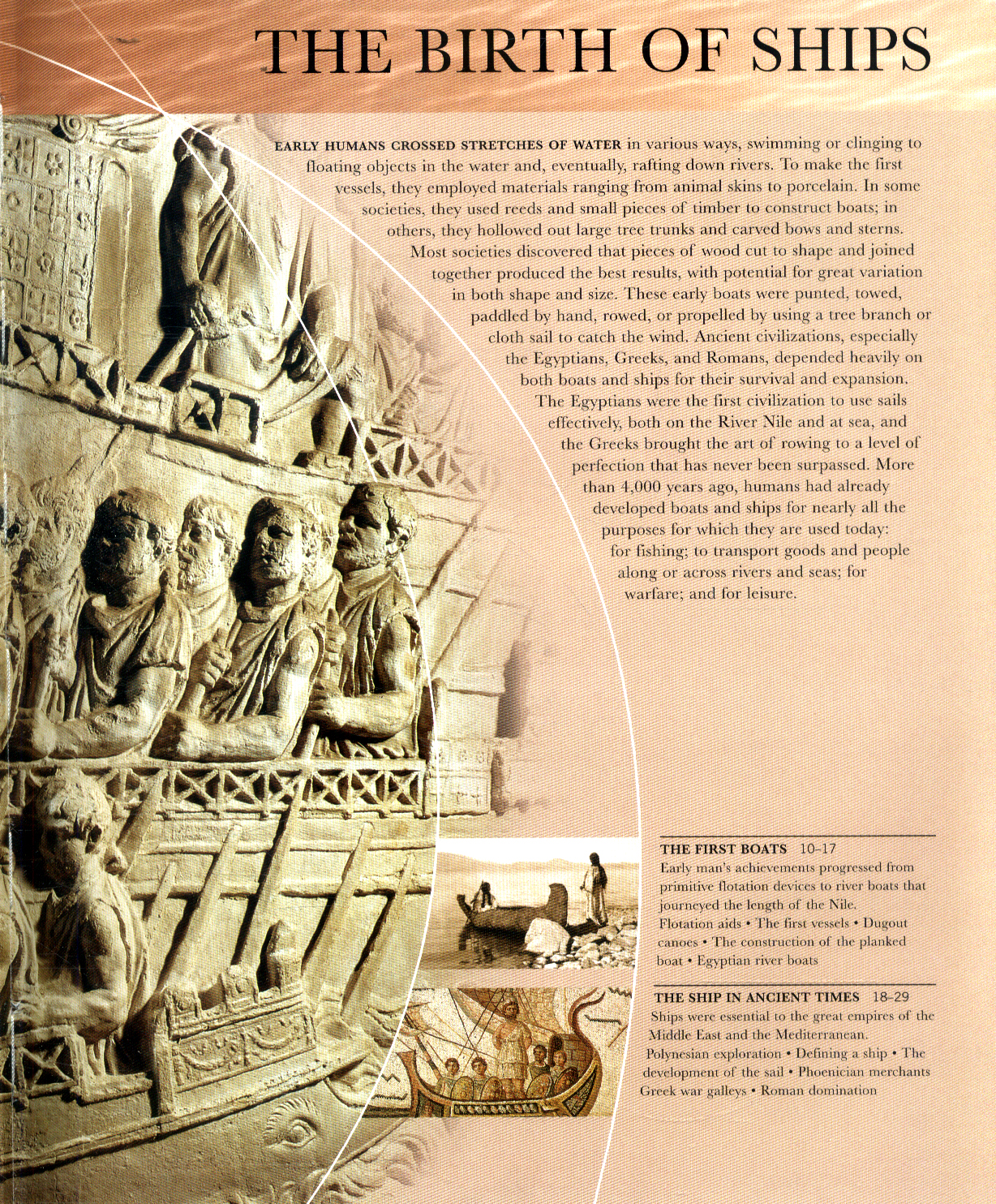 5000 Years of Maritime History Ship