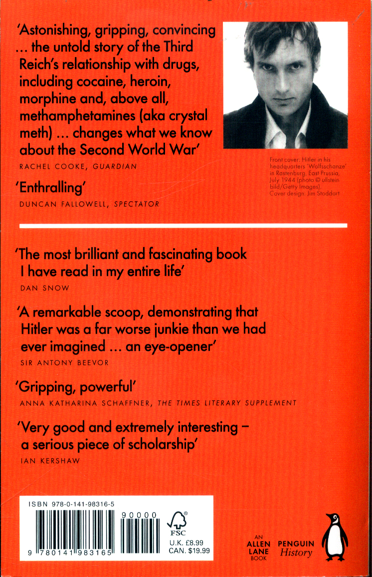 Blitzed : drugs in Nazi Germany by Ohler, Norman
