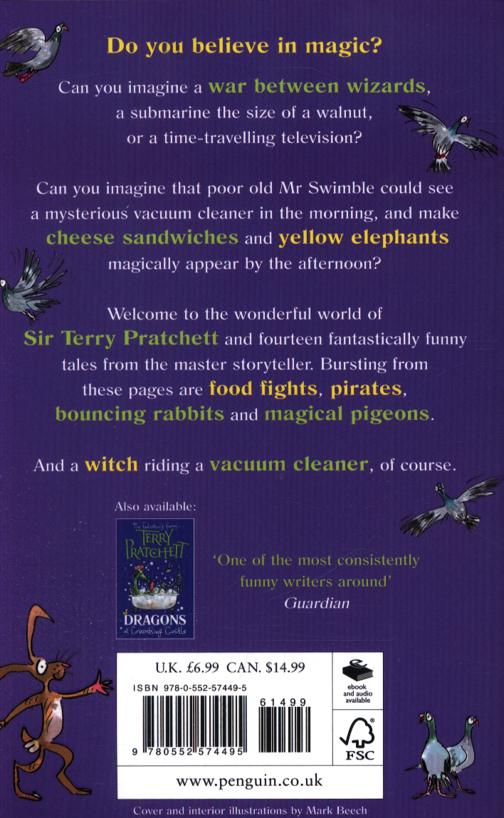The witch's vacuum cleaner and other stories by Pratchett