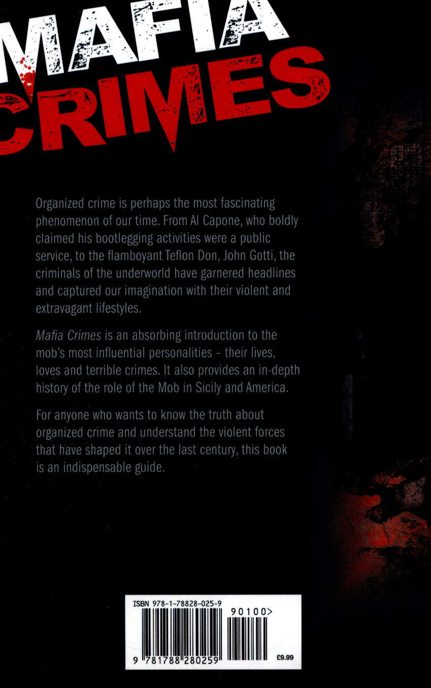 Mafia crimes : the history of the Mob by Roland, Paul