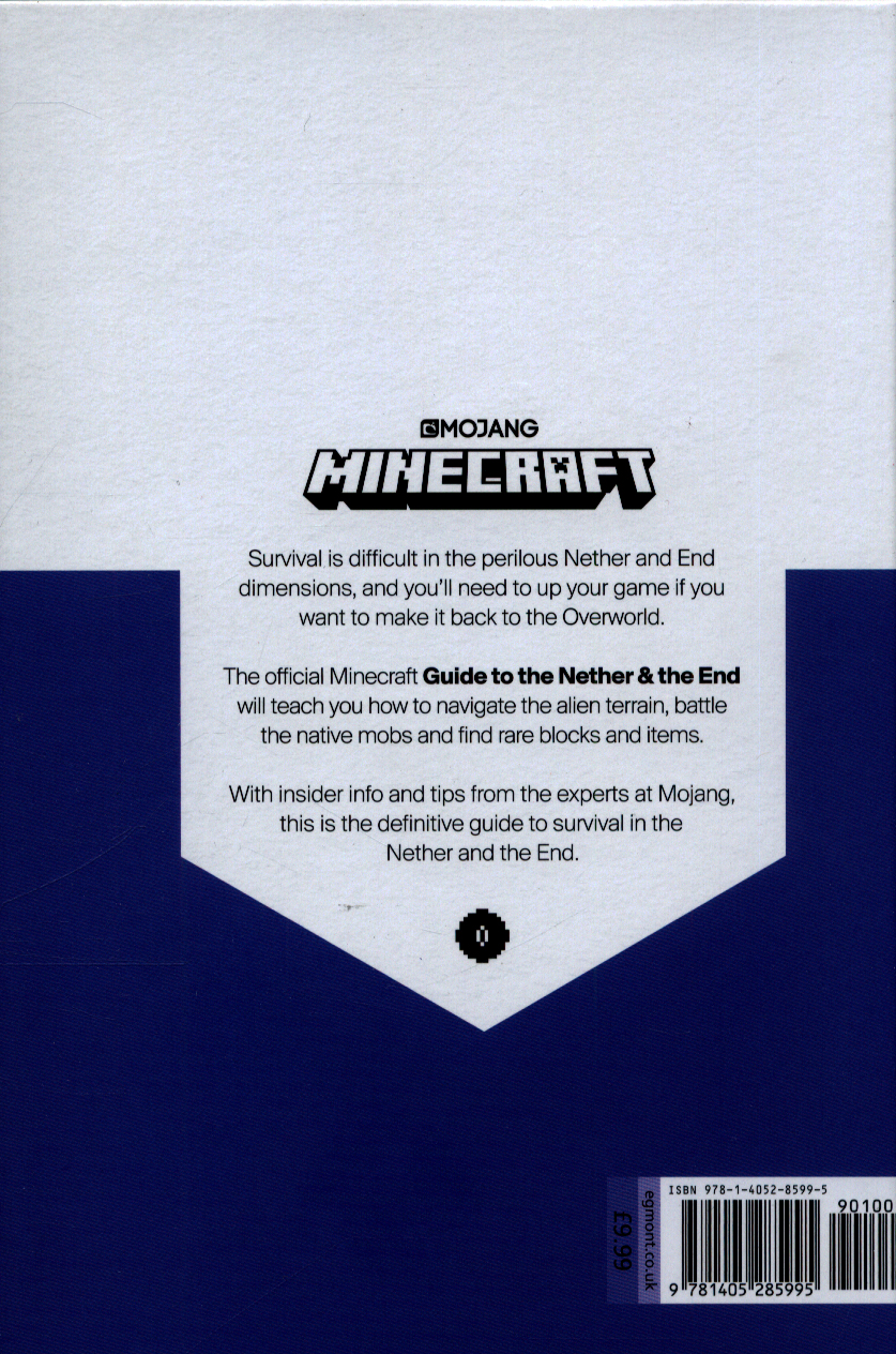 Minecraft: Guide to the Nether & the End by Mojang AB (9781405285995