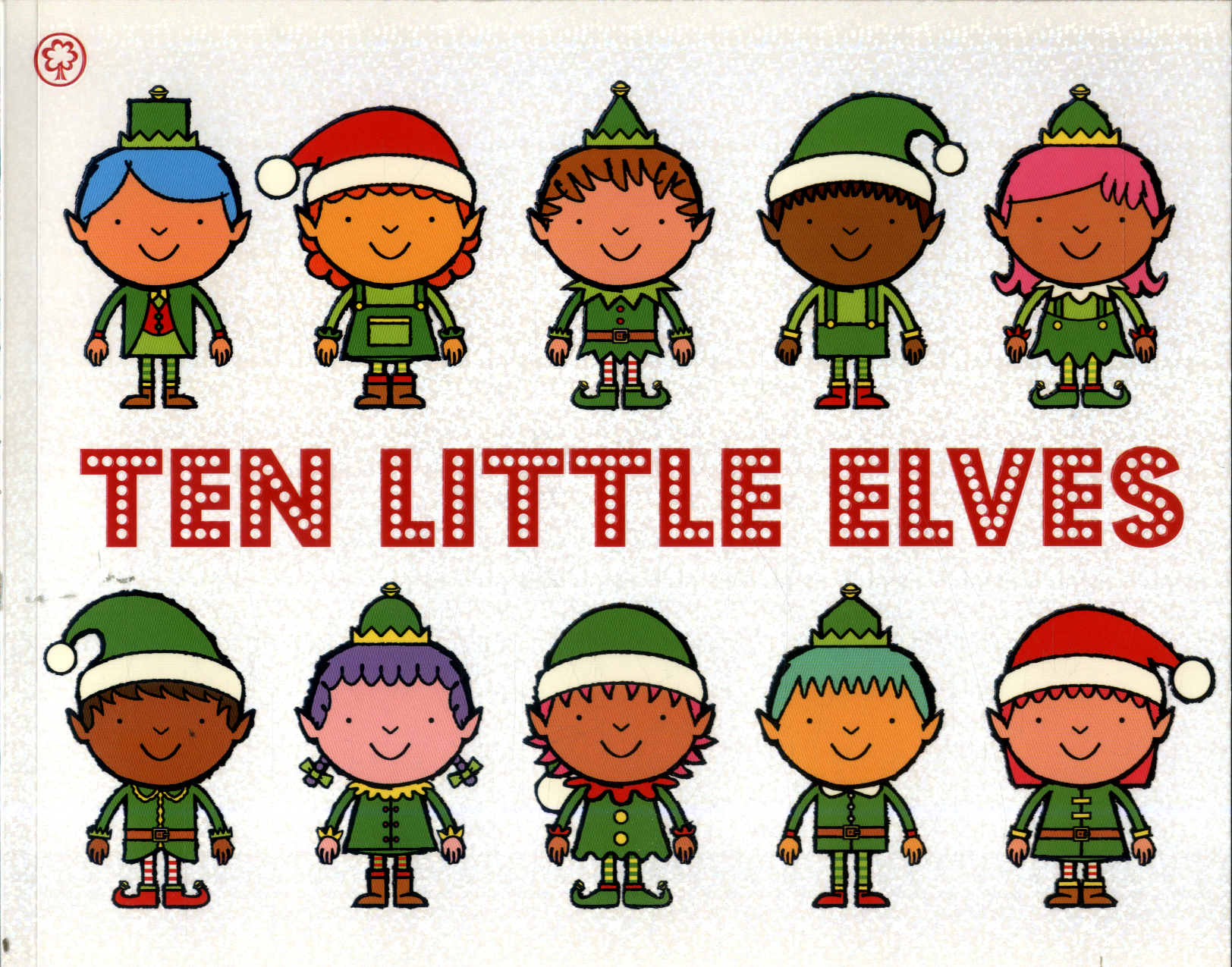 Ten little elves by Brownlow, Mike (9781408338292) | BrownsBfS