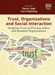 Image for Trust, organizations and social interaction  : studying trust as process within and between organizations