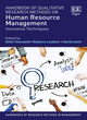 Image for Handbook of qualitative research methods on human resource management  : innovative techniques