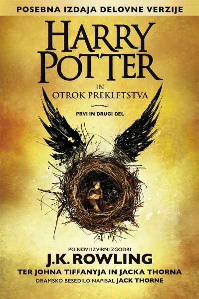 Image for Harry Potter in otrok prekletstva  : prvi in drugi del (posebna prvi in drugi del izdaja delovne verzije)