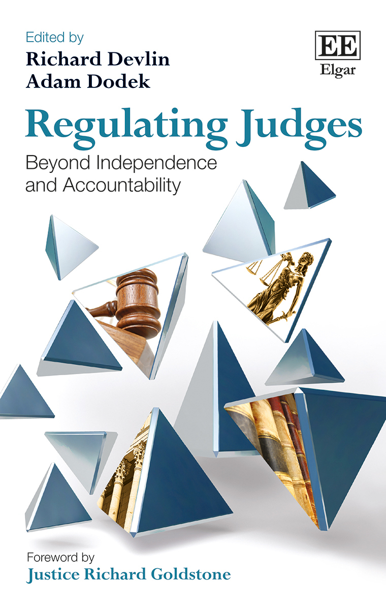 Image for Regulating judges  : beyond independence and accountability