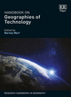 Image for Handbook on geographies of technology
