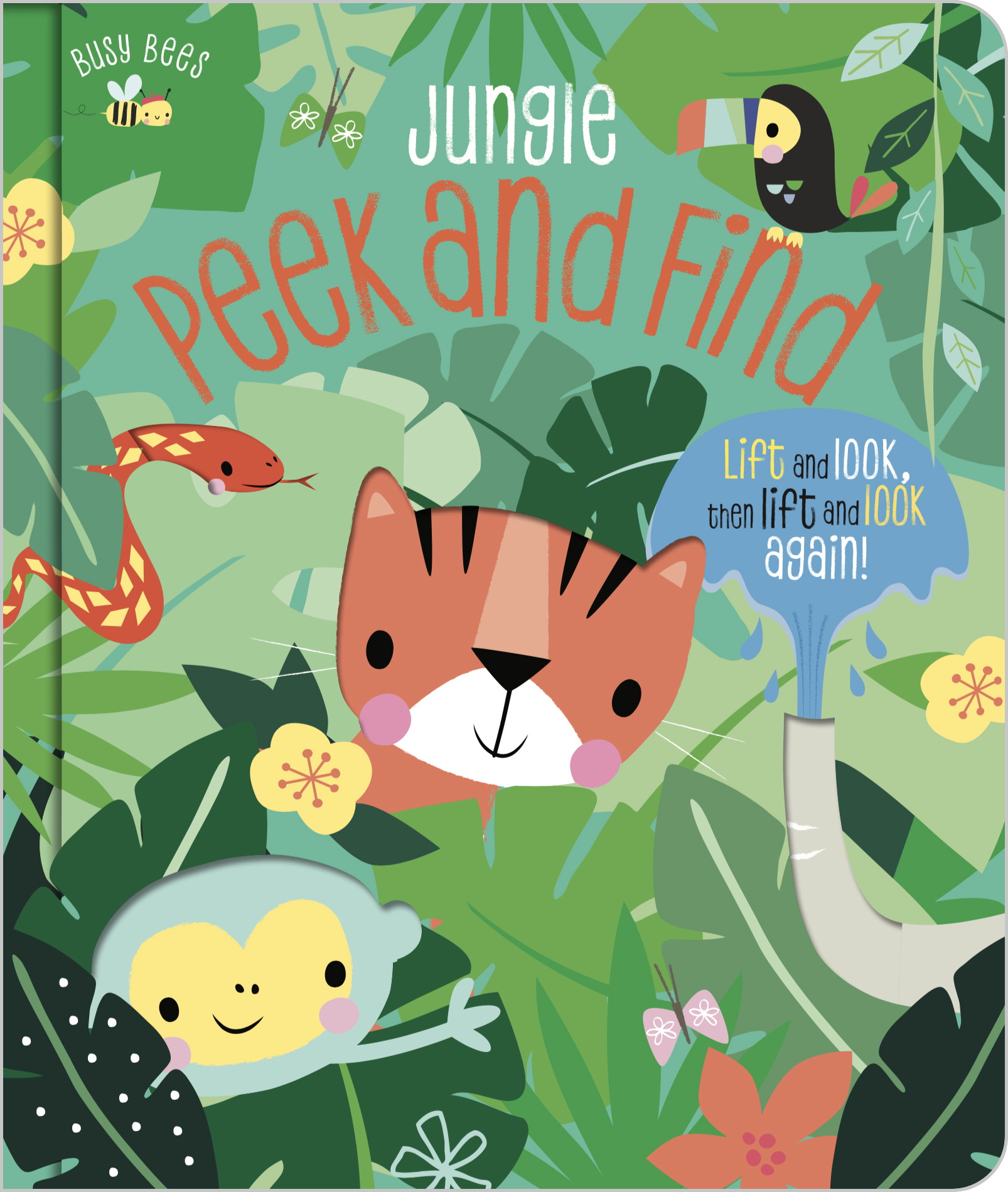 Image for Jungle peek and find  : life and look, then lift and look again!