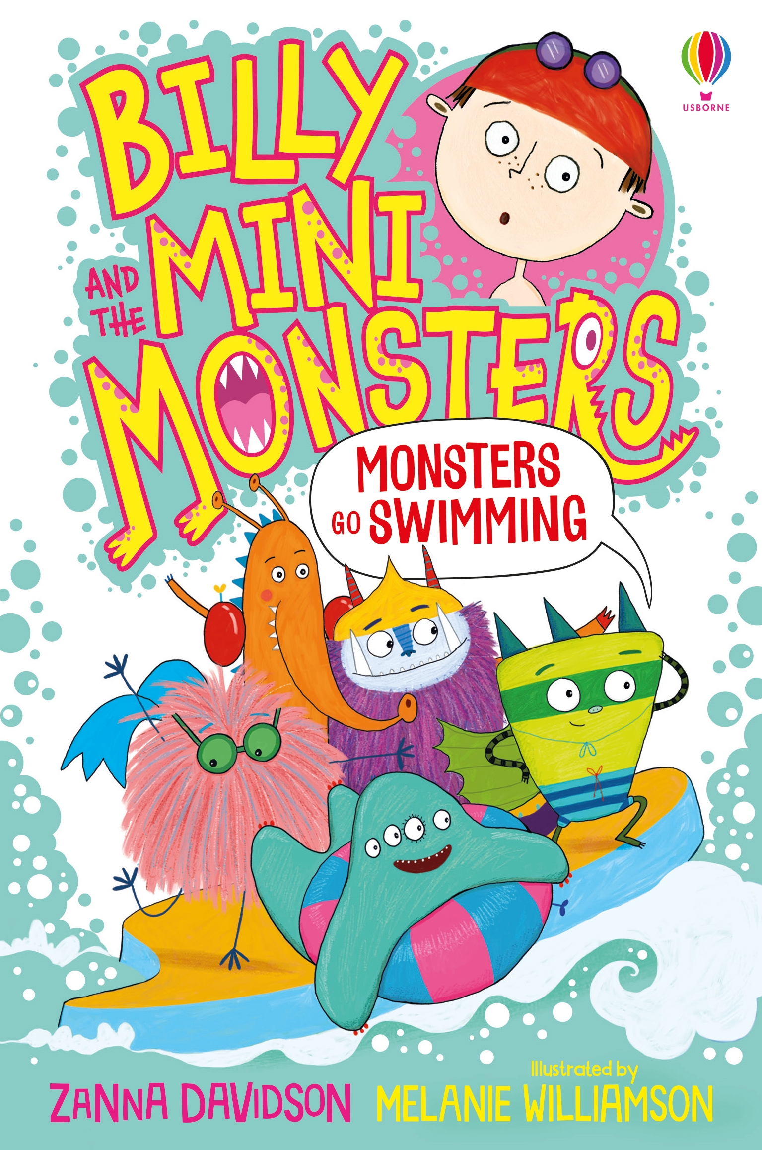 Image for Monsters go swimming