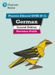 Image for German  : for 2022 exams and beyond: Revision guide