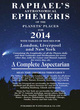 Image for Raphael's astronomical ephemeris of the planets' places for 2014  : a complete aspectarian