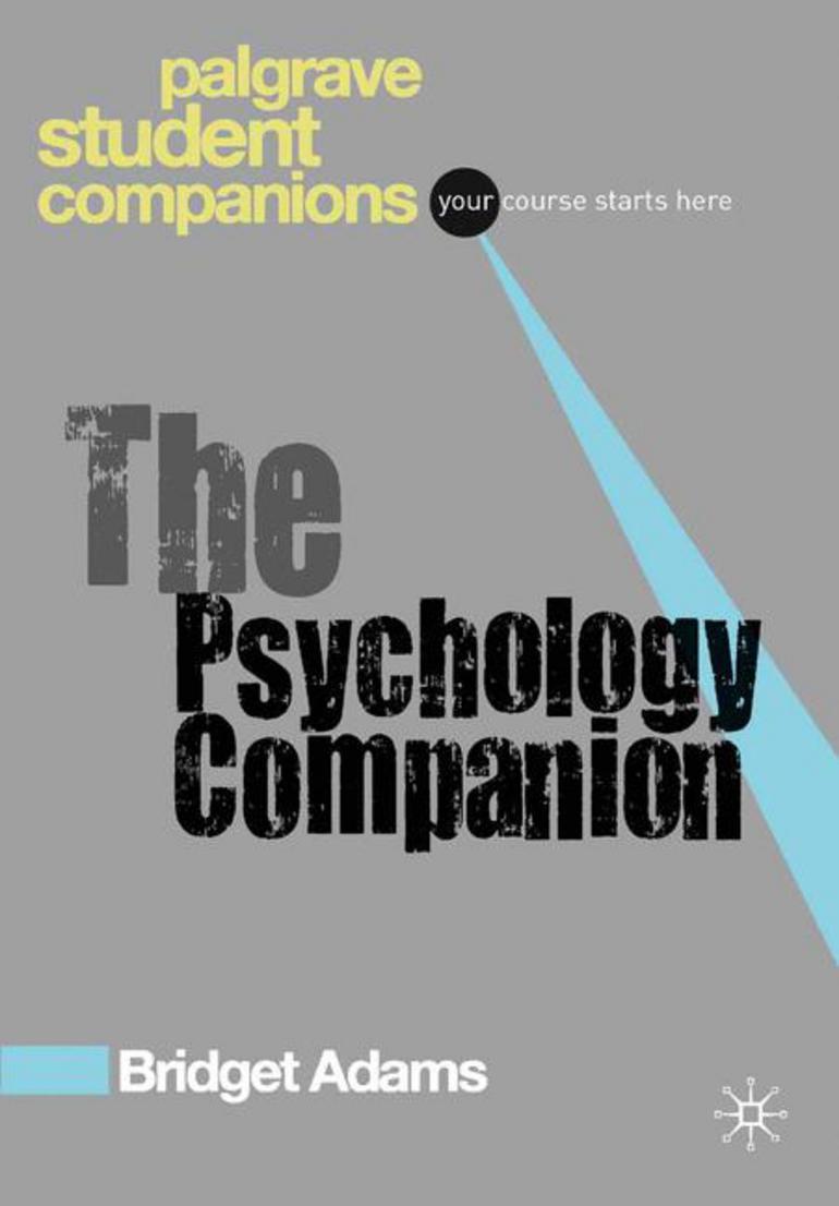The Psychology Companion - Bridget Adams - Macmillan